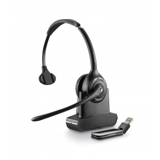 Plantronics Savi W410 (Over-the-head) — беспроводная DECT гарнитура для компьютера