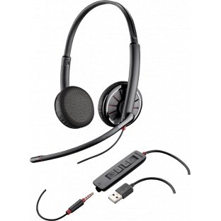 Plantronics BlackWire C325.1 - гарнитура USB/jack 3.5