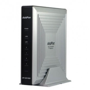 AP-GS1002A - VoIP-GSM шлюз, 2 GSM канала, SIP & H.323, CallBack, SMS. Порты Ethernet 2x10/100 Mbps